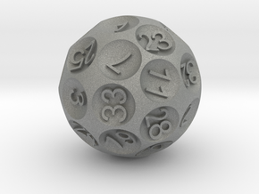 special D36 sphere dice in Gray PA12