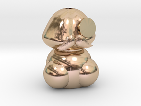 Mushroom humidifier/蘑菇加濕器(Model) in 14k Rose Gold