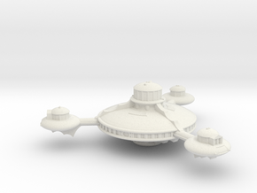 Omni Scale Romulan Battle Station MGL in White Natural Versatile Plastic