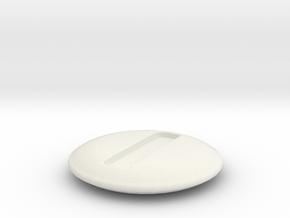 Bit Die in White Natural Versatile Plastic