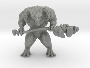 Dark Souls Taurus Demon 45mm miniature games rpg in Gray PA12