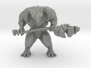 Dark Souls Taurus Demon 45mm miniature games rpg in Gray PA12