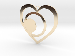 Valentine's Day Ornaments in 14K Yellow Gold