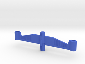 Stratastation Twin Connector in Blue Processed Versatile Plastic