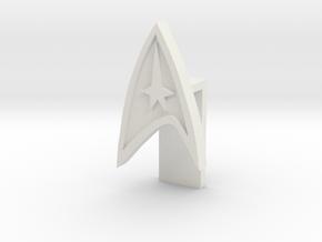Laptop Video Lense cover (Star trek) in White Natural Versatile Plastic