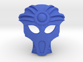 The Mask of Clairvoyance in Blue Processed Versatile Plastic