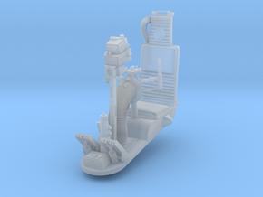 DeAgo Falcon - Gunner Chair in Smooth Fine Detail Plastic