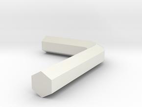 wrench in White Natural Versatile Plastic: Medium