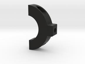 Small Mount 1 - 3.0 in Black Natural Versatile Plastic