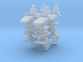 Dentist Chair (x8) 1/120 in Smooth Fine Detail Plastic
