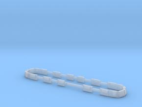 Scala N - FS E645 - E646 prima serie finestrini in Smooth Fine Detail Plastic