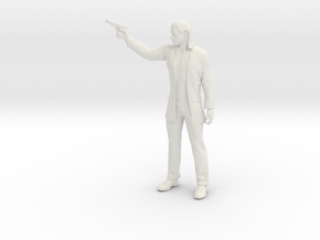 Printle F John Travolta - 1/24 - wob in White Natural Versatile Plastic