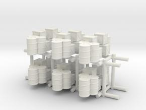 1/285-1/700 Supply Stock Pile x12 in White Natural Versatile Plastic
