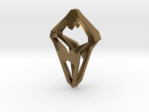 Prototype, Pendant. Sharp Chic in Natural Bronze