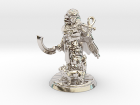 Egyptian Queen Miniature in Rhodium Plated Brass