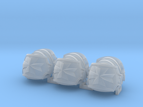 Templar vet cross shoulder pad x6 in Smooth Fine Detail Plastic