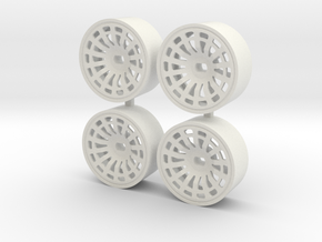 DELTA 4WD FRONT C+1 in White Natural Versatile Plastic