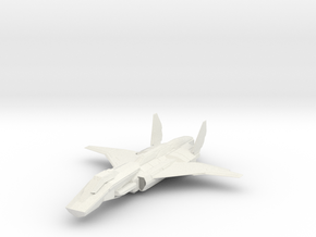 1/144 Kestrel MK2 Aerospace Fighter in White Strong & Flexible