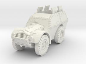 Autocarro Protetto (shields) 1/72 in White Natural Versatile Plastic