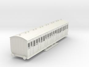 o-87-met-orig-ashbury-bogie-3rd-class-coach in White Natural Versatile Plastic
