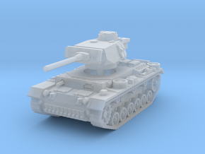 Panzer III L 1/160 in Smooth Fine Detail Plastic
