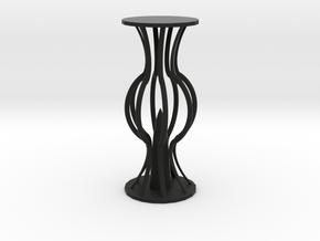 Lantern in Black Natural Versatile Plastic