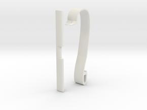 Elia Mk-II Baby's bed camera holder. in White Premium Versatile Plastic