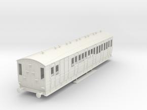 o-43-met-orig-ashbury-bogie-brake-third-coach in White Natural Versatile Plastic