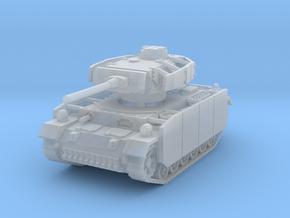 Panzer III M (schurzen) 1/200 in Smooth Fine Detail Plastic