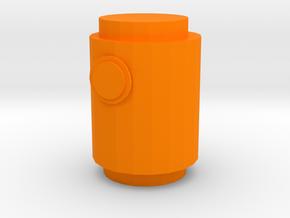 Lantern demon in Orange Processed Versatile Plastic