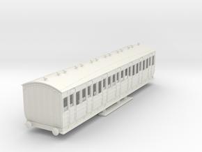 o-76-met-orig-ashbury-bogie-third-class-coach in White Natural Versatile Plastic