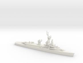 1/600 Scale 3 Pole DDE 1950 Weapon Alpha in White Natural Versatile Plastic