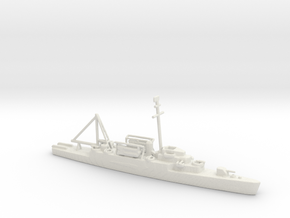 1/600 Scale USS Wantuck APD-125 in White Natural Versatile Plastic