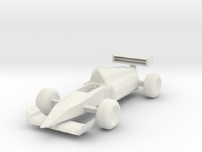 sportcar in White Natural Versatile Plastic