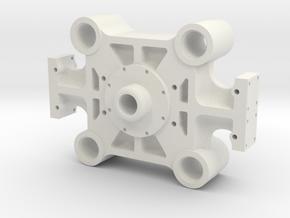 Bethlehem Steel Forging Press Main Beam in White Natural Versatile Plastic: 1:160 - N