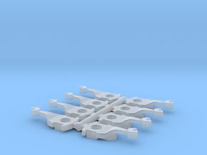 N Scale Kinematic Coupler for BLI P70 8PK (FUD) in Smooth Fine Detail Plastic