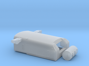 1/72 USS Portland CA-33 Turret with Trunnion in Smooth Fine Detail Plastic