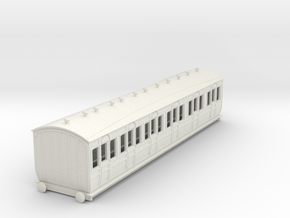 o-100-met-ashbury-bogie-composite-coach in White Natural Versatile Plastic