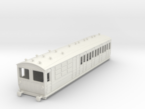 o-100-met-ashbury-bogie-brake-3rd-motor-coach in White Natural Versatile Plastic