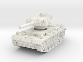 Flammpanzer III 1/56 in White Natural Versatile Plastic