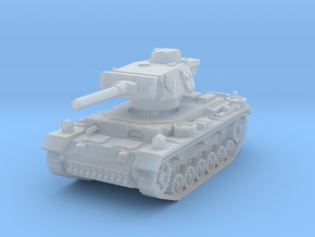 Flammpanzer III 1/144 in Smooth Fine Detail Plastic