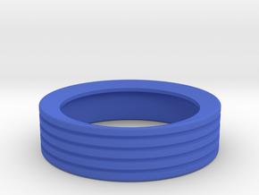 Knobs - Volume, Radio Tuning, Fan in Blue Processed Versatile Plastic