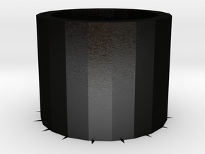 trash can in Matte Black Steel