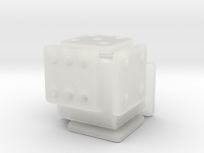 Shifted Die in Smooth Fine Detail Plastic