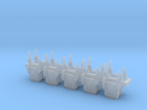 Imperial Heavy Infantry Backpacks Squad Pack in Smooth Fine Detail Plastic