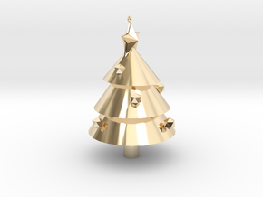 Tree in 14K Yellow Gold: Small