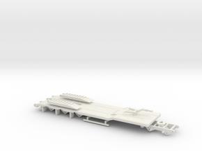 000631 TU 5 Tieflader HO in White Natural Versatile Plastic: 1:87 - HO