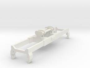 Kalmar Crane Spreader N scale in White Natural Versatile Plastic