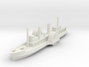 1/600 USS Quaker City (Mount Organise) in White Natural Versatile Plastic