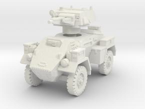 Fox Armoured Car 1/87 in White Natural Versatile Plastic